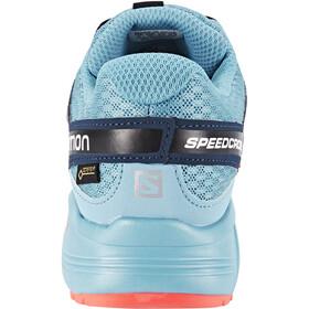 Salomon Speedcross Vario GTX Chaussures running Femme, slateblue/blue gum/coral punch